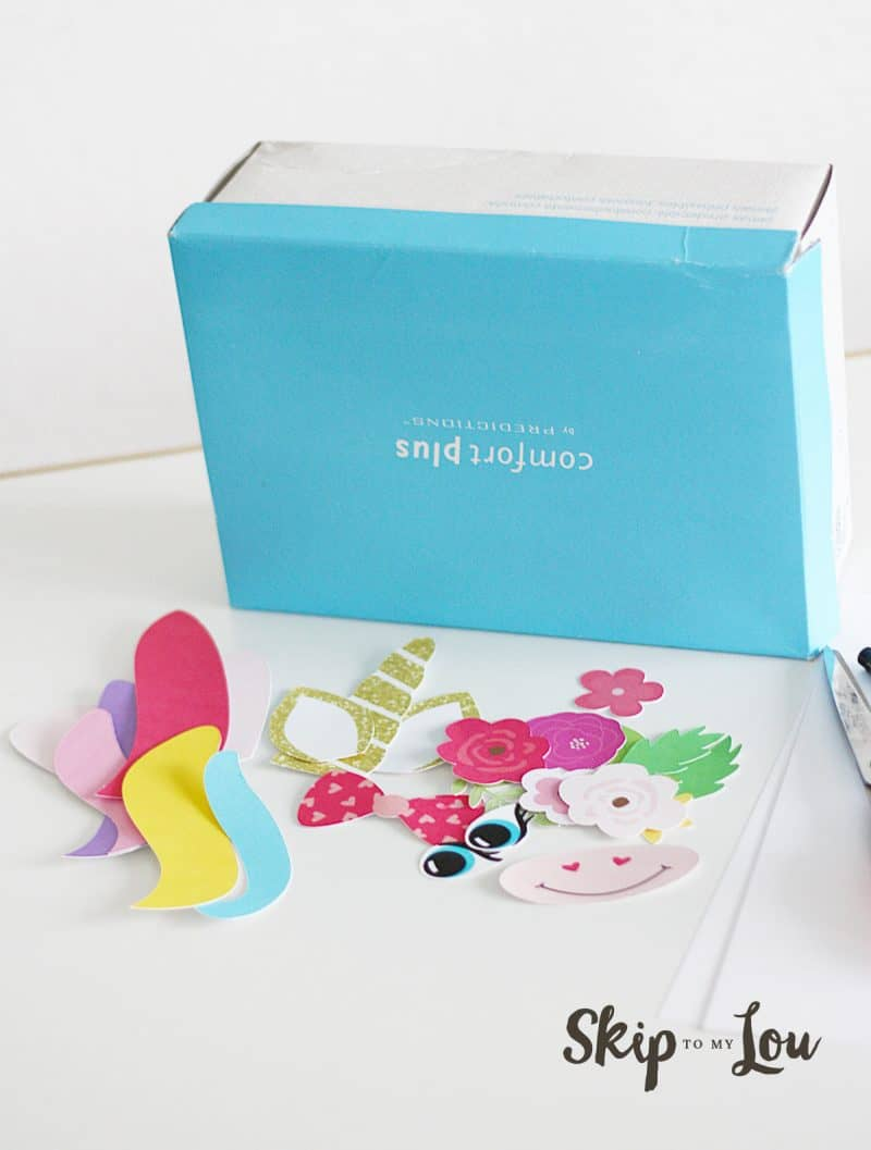 Unicorn Valentines Box Tutorial