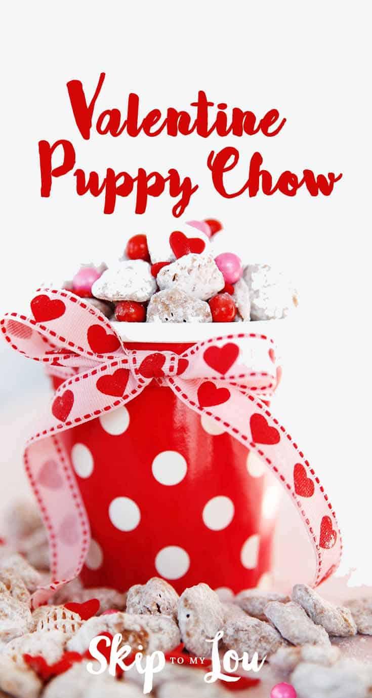 Schön Fun And Festive Valentine Puppy Chow {EASY Recipe}