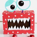 Valentines Day Monster Box DIY