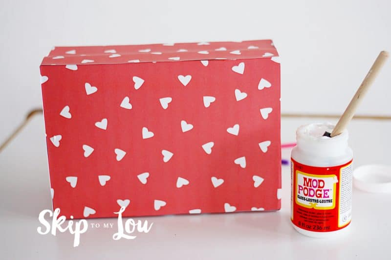 Monster Valentine Box DIY