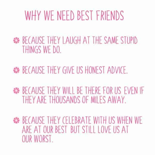 Awesome best friend quotes to share with a friend | Skip To My Lou