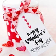 free printable valentines gift tags
