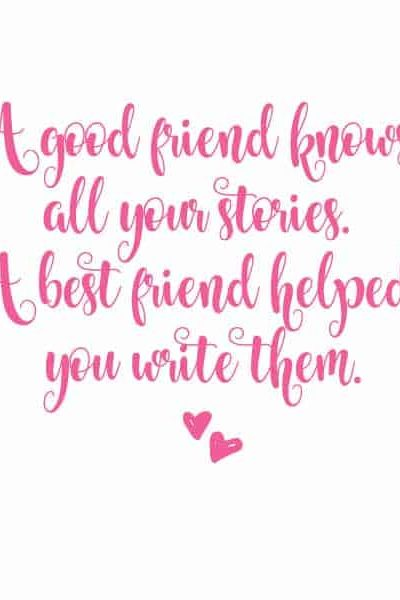 friend quote about best friends