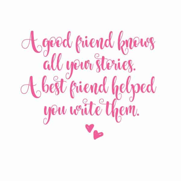 Exceptional Friend Quote About Best Friends