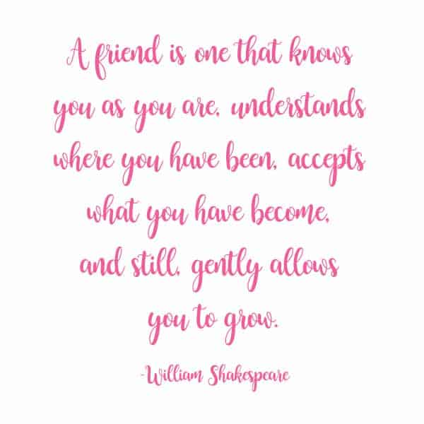 friend quote shakespeare