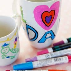 how to decorate a mug and it last