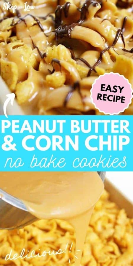 peanut butter no bake cookies recipe PIN