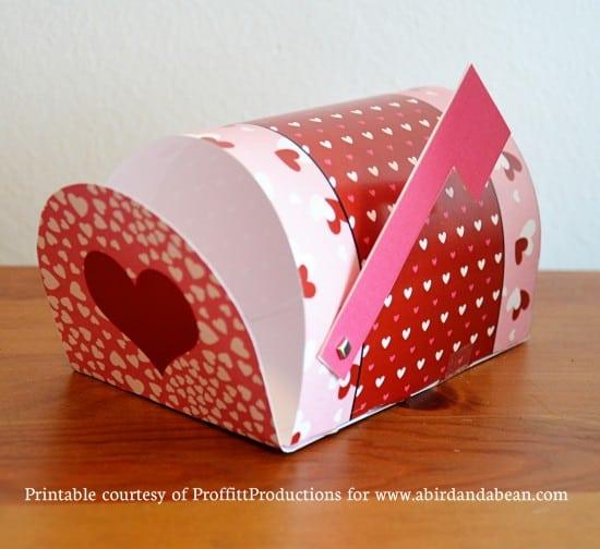 heart shaped mailbox