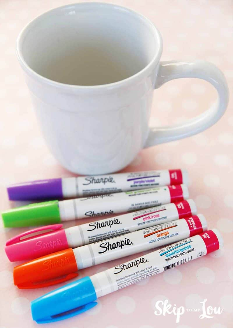 sharpie mug how to