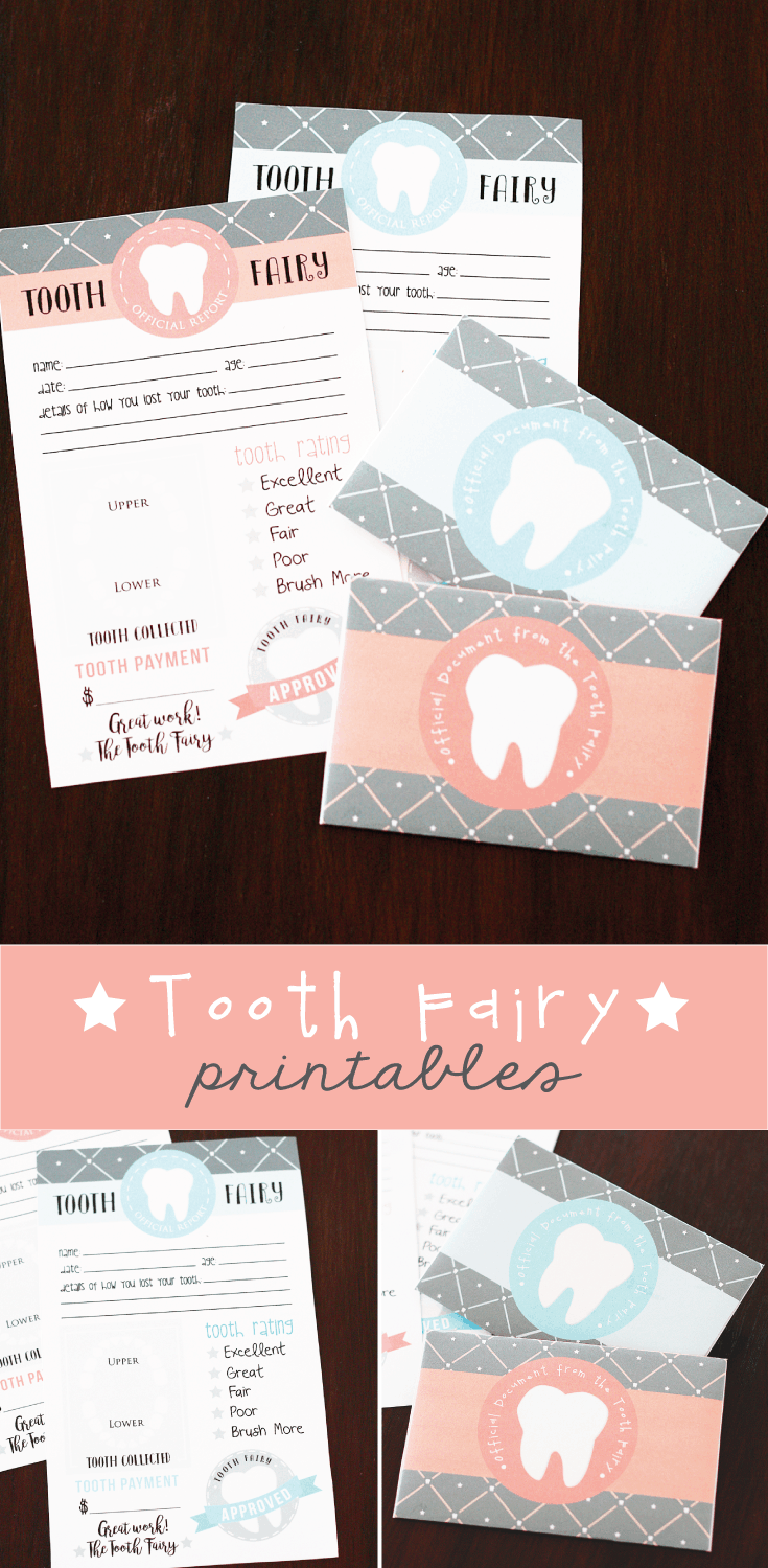 graphic about Free Printable Tooth Fairy Letters referred to as No cost Printable Teeth Fairy Letter with matching enevelopes