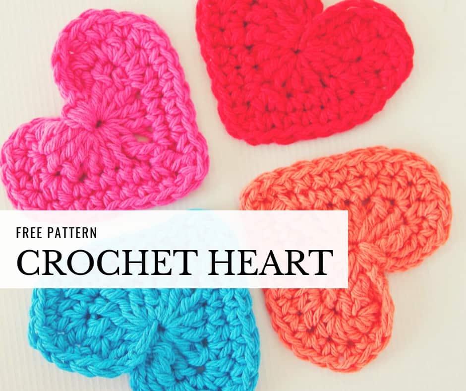 Easy Crochet Heart Garland Pattern Skip To My Lou
