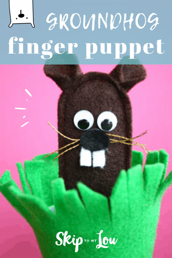 groundhog finger puppet PIN