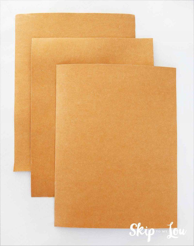 cut fabric paper