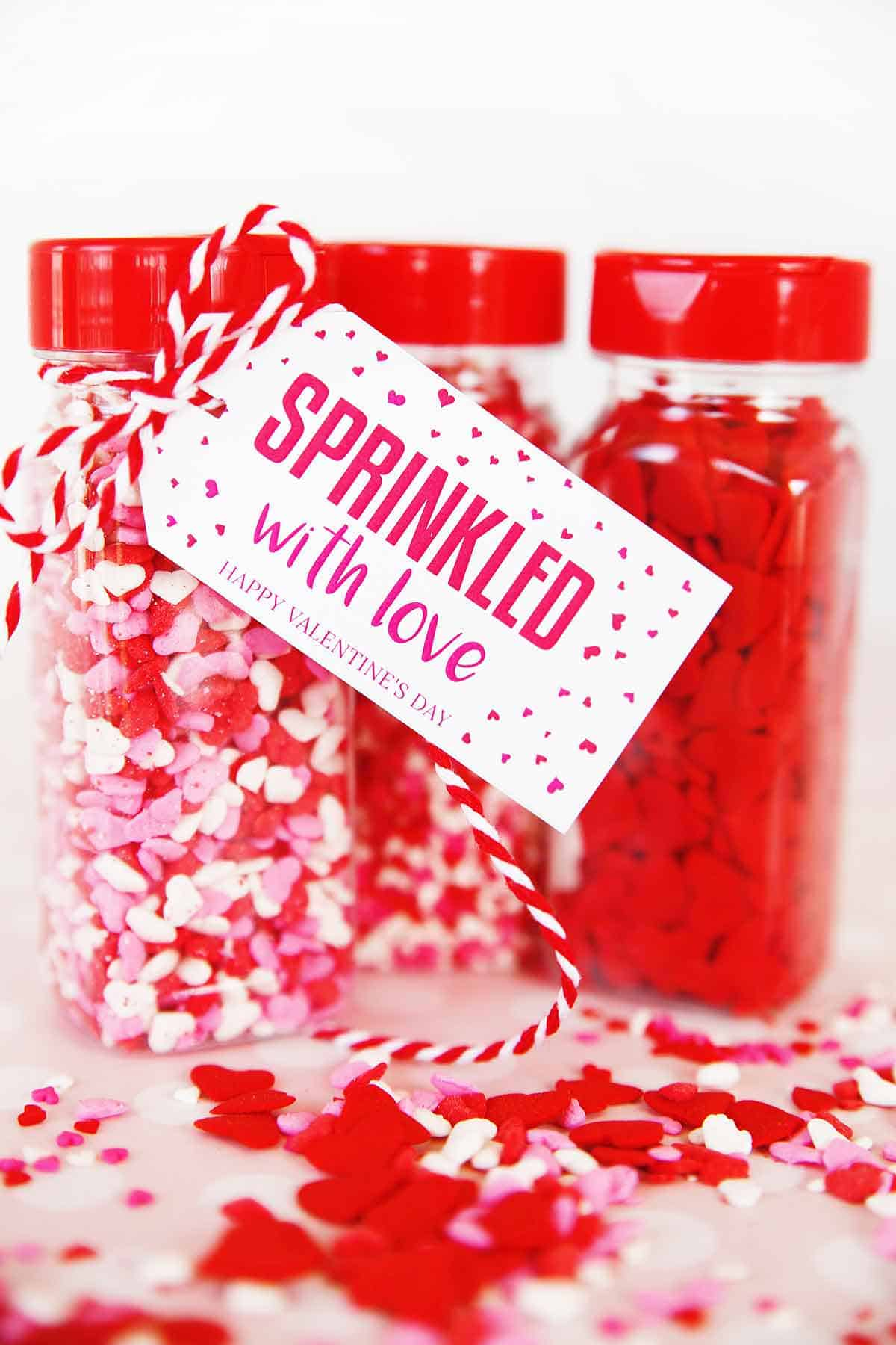 Cute Sprinkles Easy Valentine S Gift Skip To My Lou