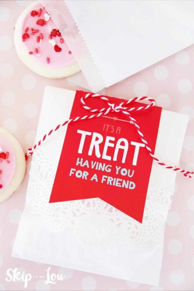 valentine treats gift tags printable