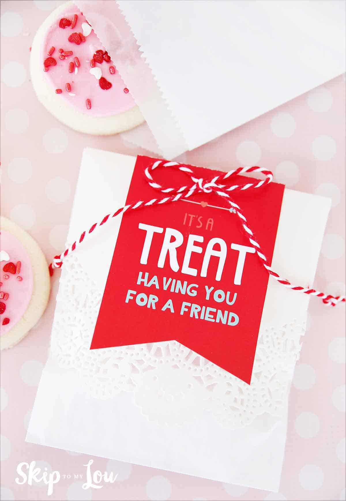 Classroom Easter Ideas ~ Valentines day tags for your treats skip to my lou