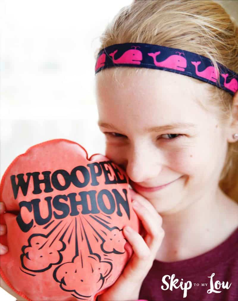 whoopie cushion prank
