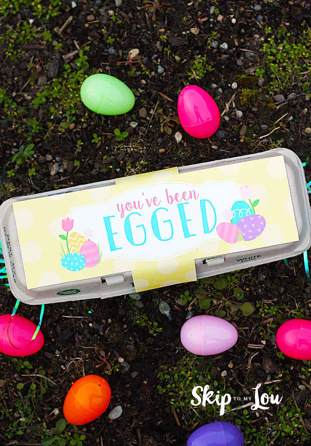 picture relating to You've Been Egged Printable titled Youve Been EGGED Easter Game Miss In the direction of My Lou