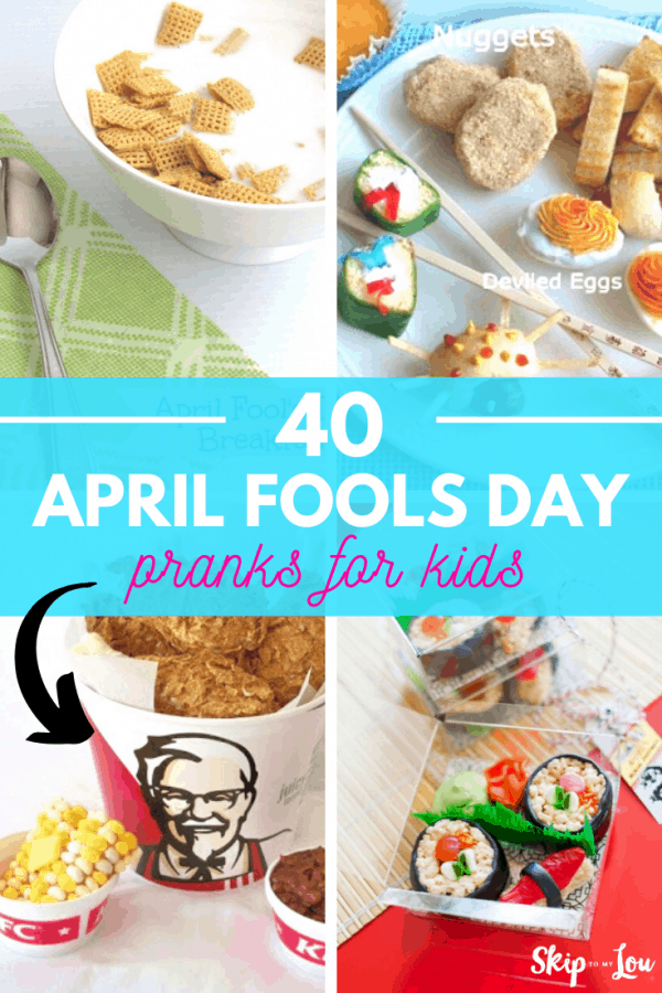 april fools day pranks for kids PIN
