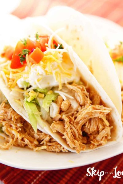 intant pot chicken taco meat
