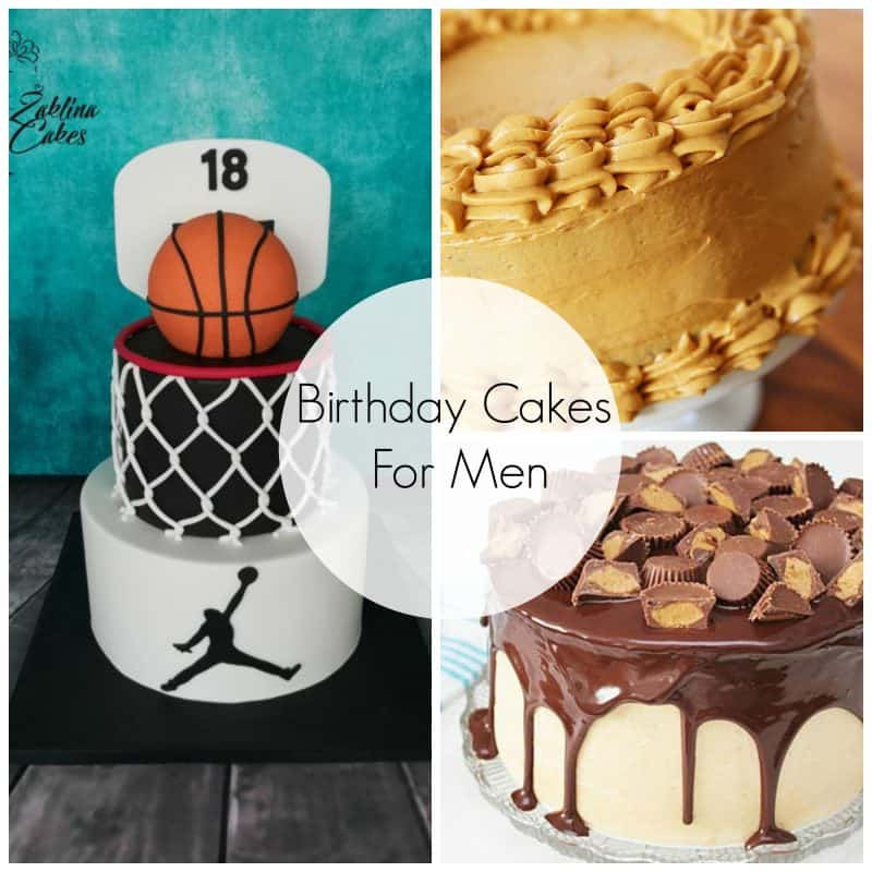 Birthday Cake Ideas For Men.Birthday Cakes For Men Skip To My Lou