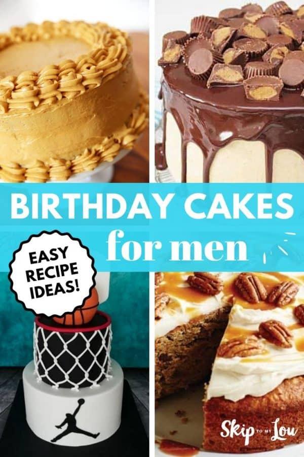 birthday cake ideas for men PIN