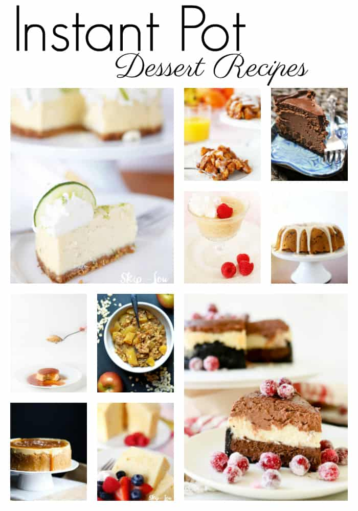 Instapot Dessert Recipes