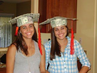 money graduation cap