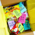 feel better soon care package filled with candy