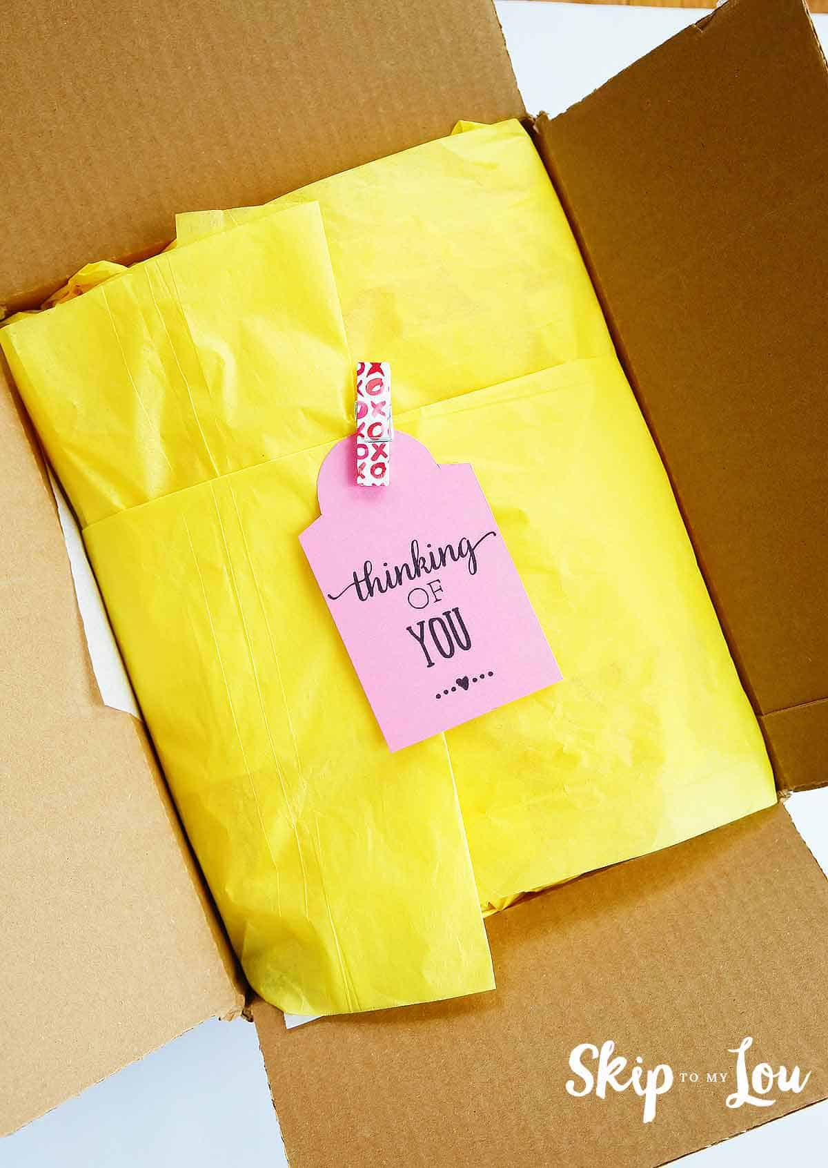 The Best Care Package Ideas Free Printables Skip To My Lou