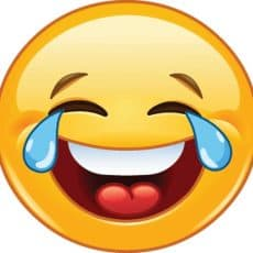 laughing emogi