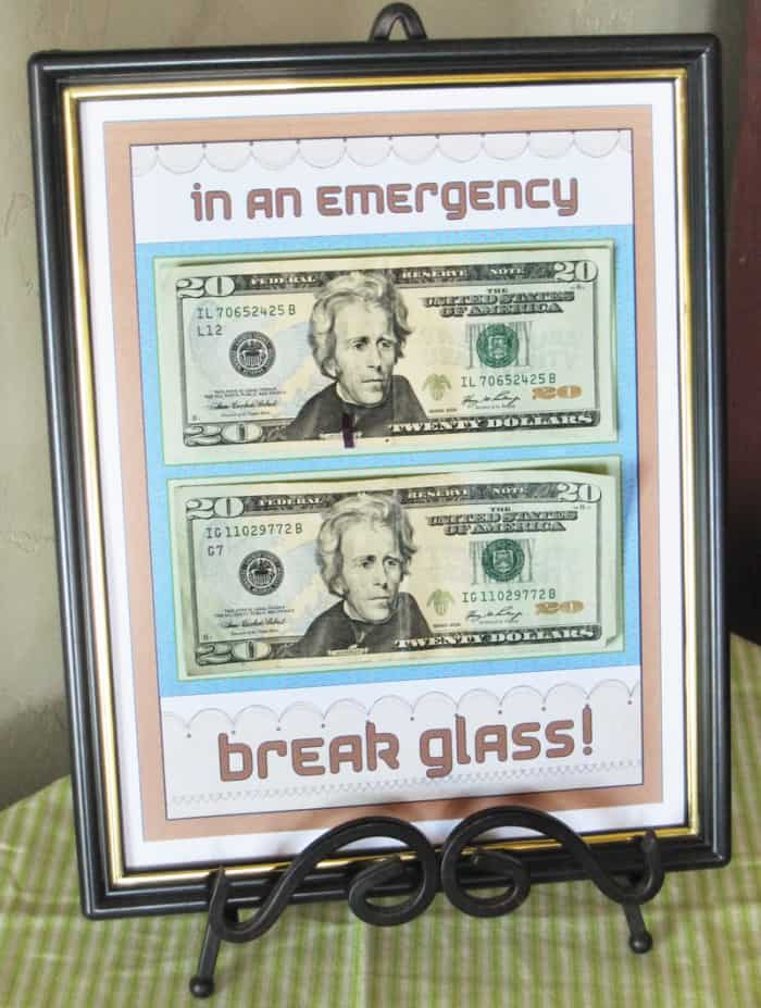 money wedding gift