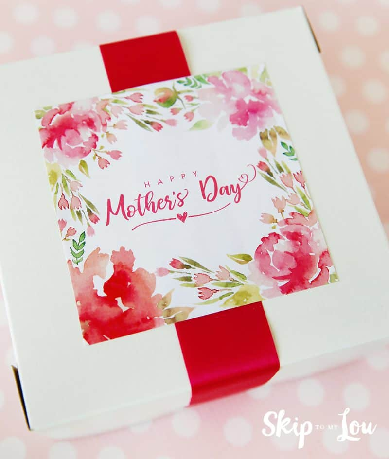 mothers day gift sticker