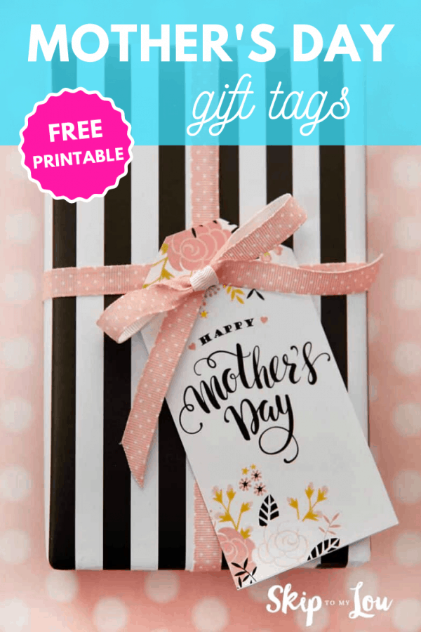 mothers day gift tags PIN