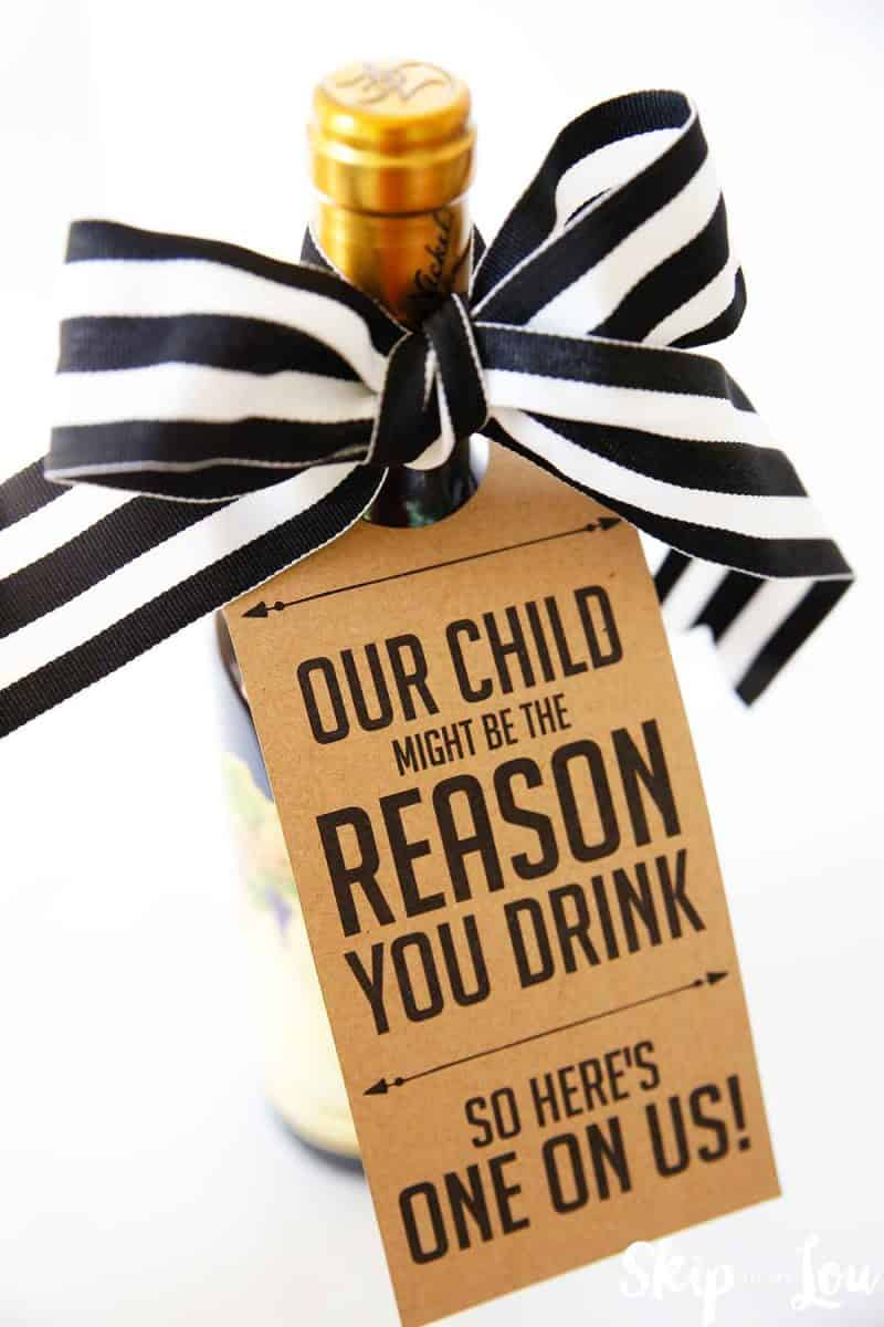 My Child Might be the Reason you Drink Teacher Wine Gift