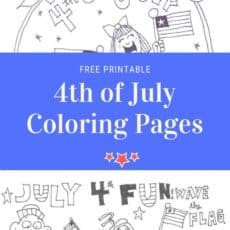 fourth of july coloring page pin