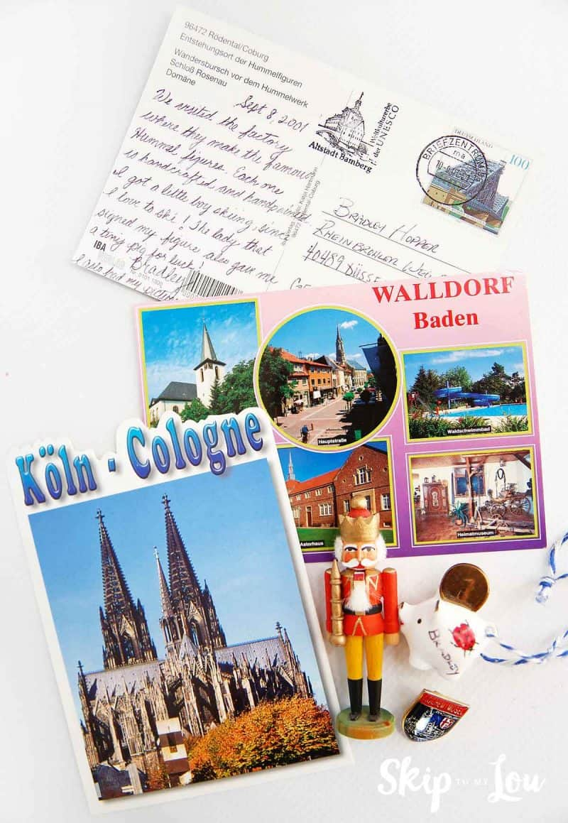 Germany souvenirs postcards nutcracker