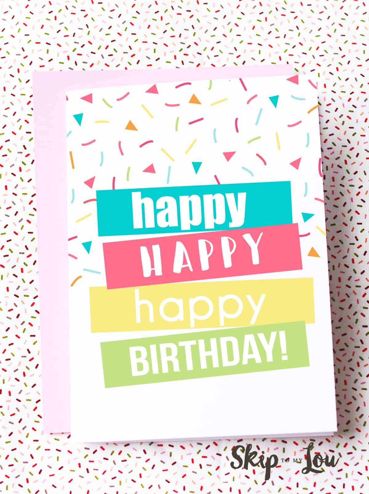 picture regarding Free Printable Birthday Cards for Boys named Totally free Printable Birthday Playing cards Miss Towards My Lou