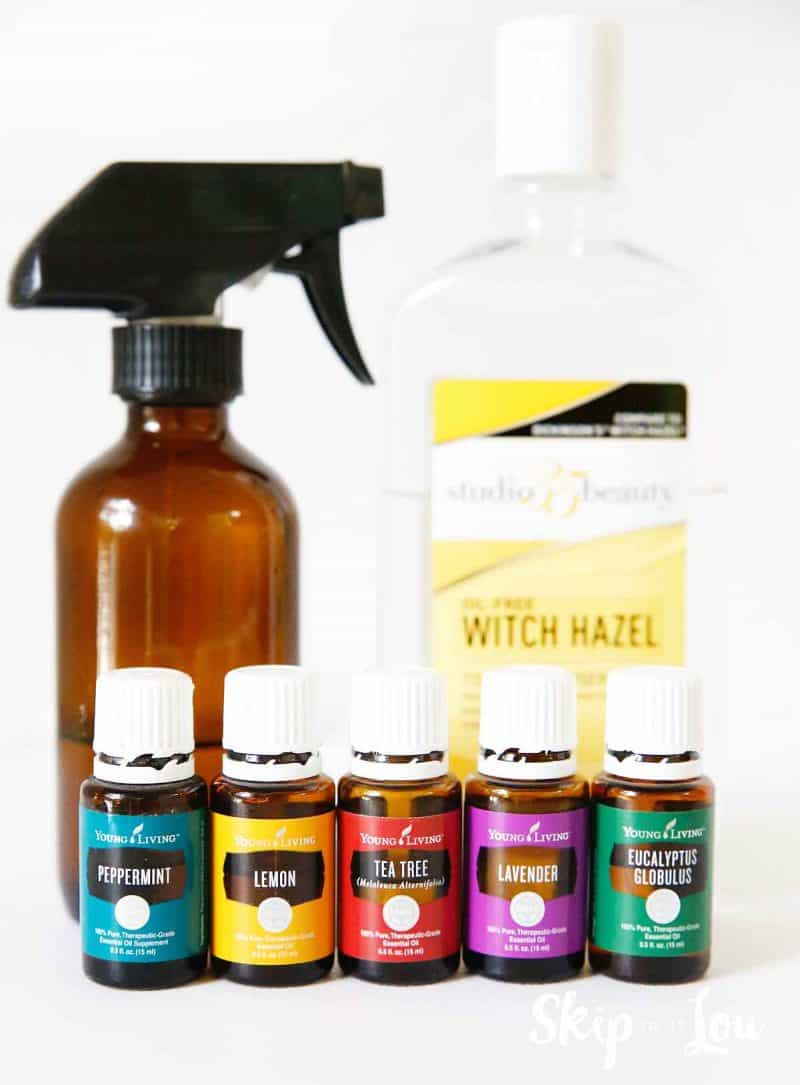 essential oils sports deodorizer