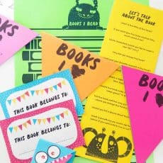 printable book reading materials