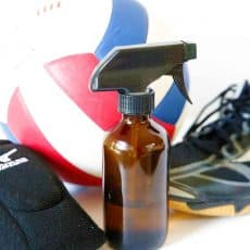 sports equipment spray