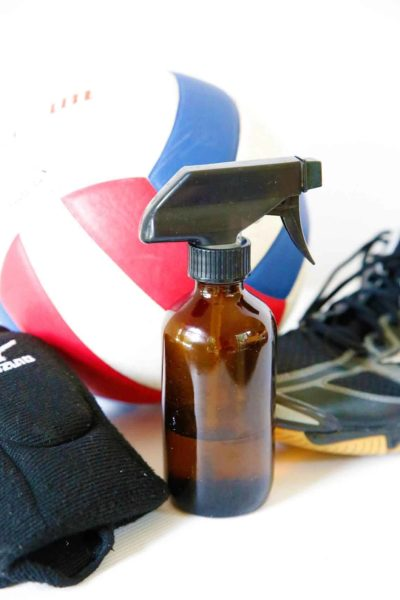 sports equipment spray
