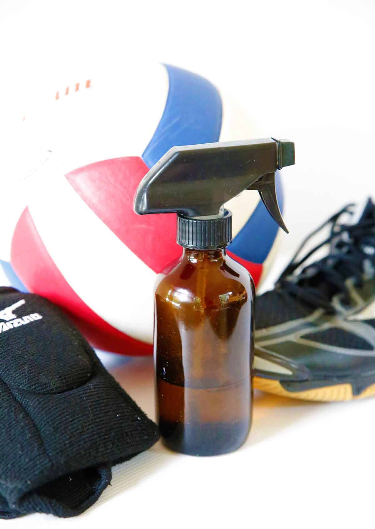 Homemade Deodorizer Spray For Sports Equipment Skip To My Lou