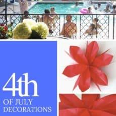 4th decorations