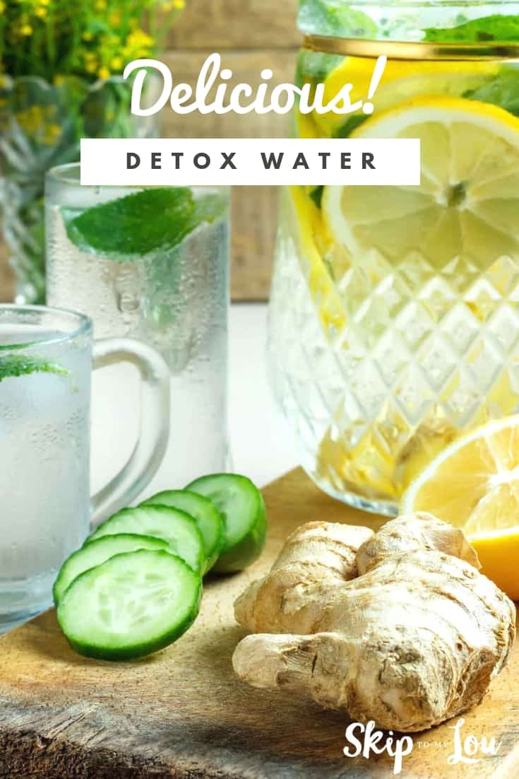 Have you tried Detox Water? Everyone knows that drinking more water is good for you.  Your body needs it-- plain and simple. Add some fruit and or essential oils and you can also detox your body!
