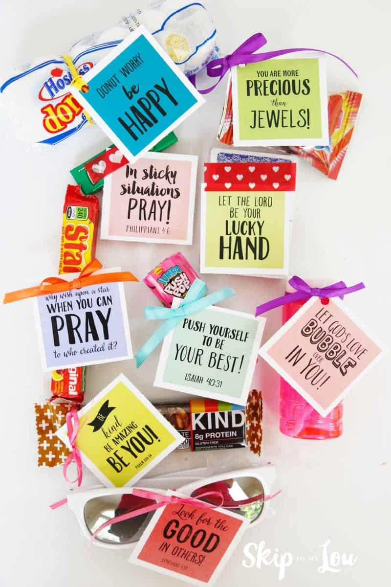 bible verses for candy bars
