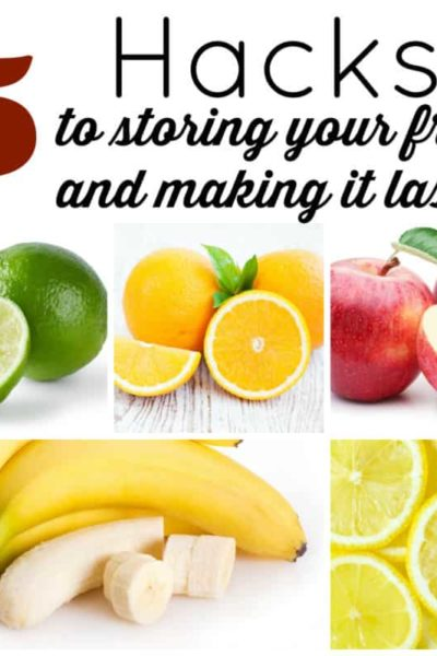 hacks for storing fruit
