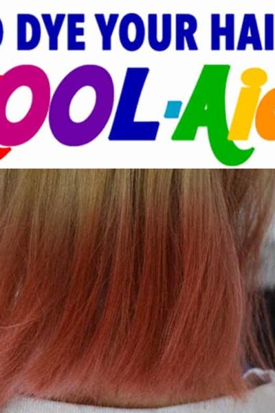 how to dye hair with kool aid
