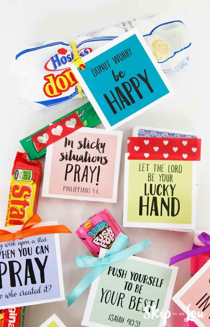 inspirational cute sayings for candy and gifts