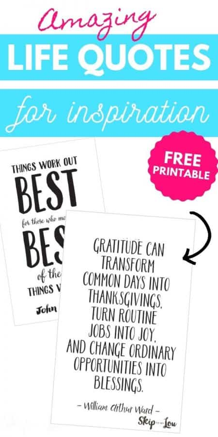 life quotes for inspiration PIN
